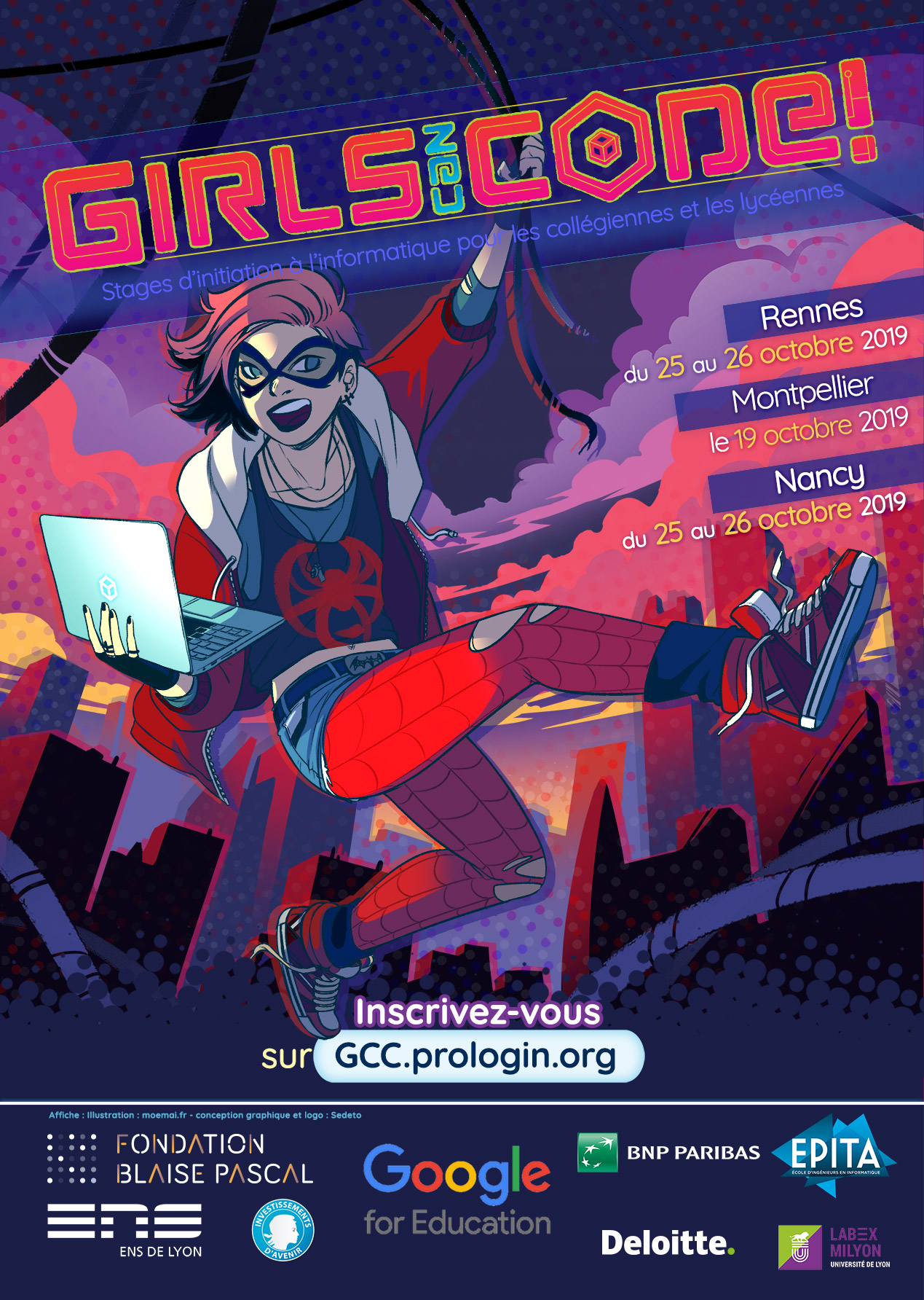 Affiche GCC!19
